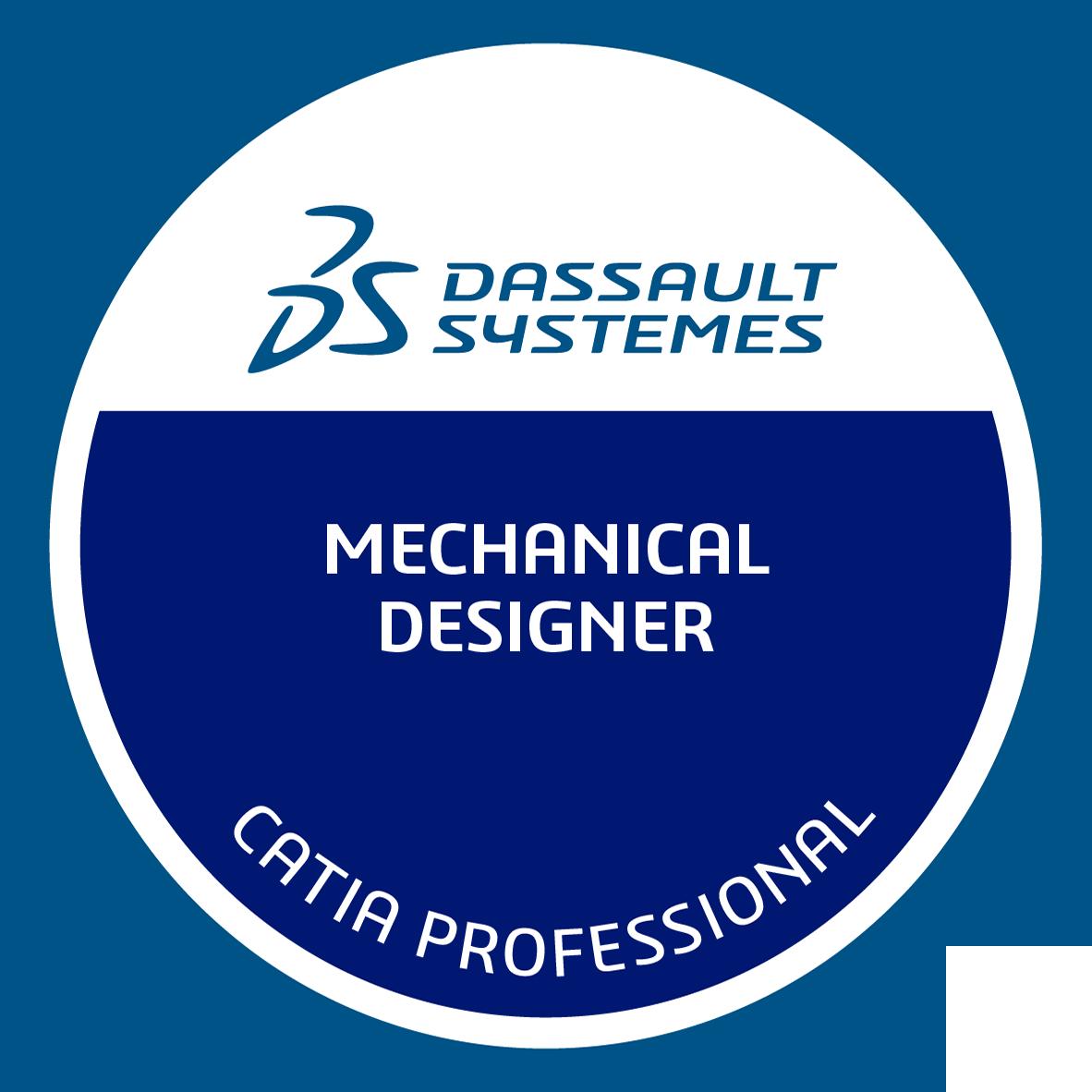 Certified 3DEXPERIENCE Mechanical Designer Professional