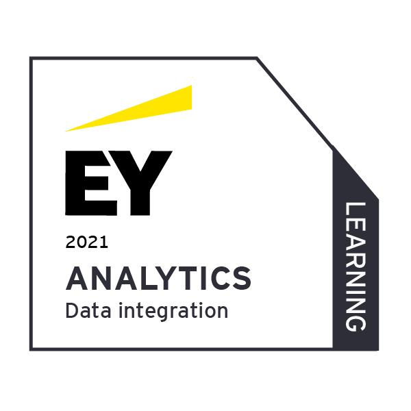 EY Analytics - Data Integration - Learning (2021)