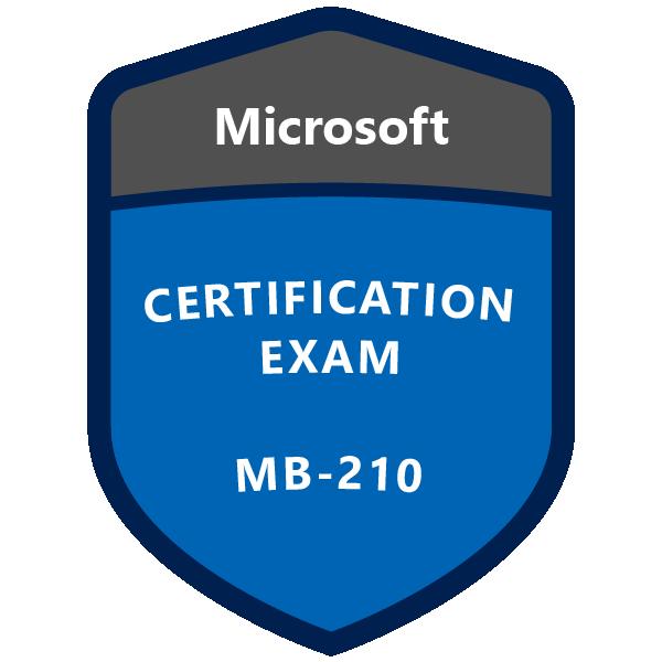 MB-210 Microsoft Dynamics 365 for Sales