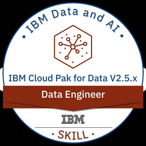 IBM Cloud Pak for Data V2.5.x Data Engineer