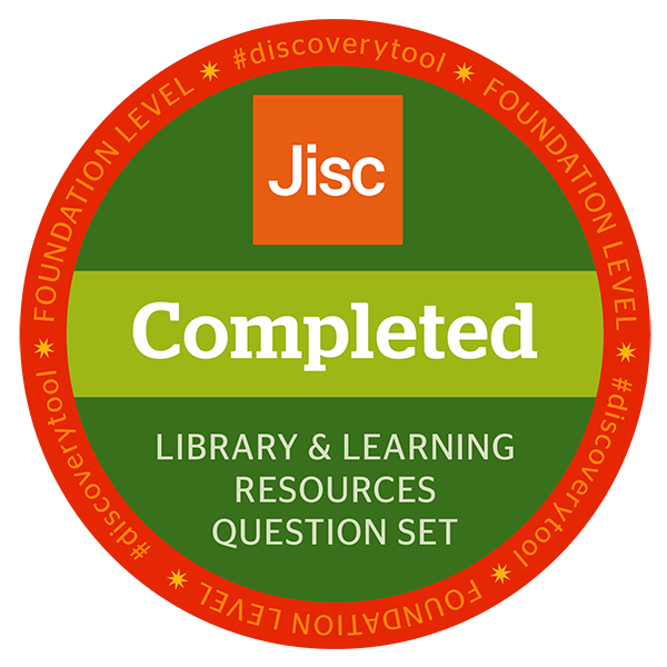 Jisc discovery tool - Library & Learning Resources