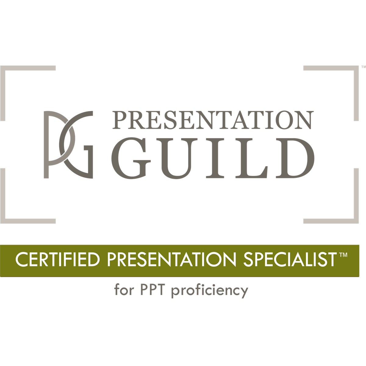 Certified Presentation Specialist (CPS)™ with PowerPoint® proficiency