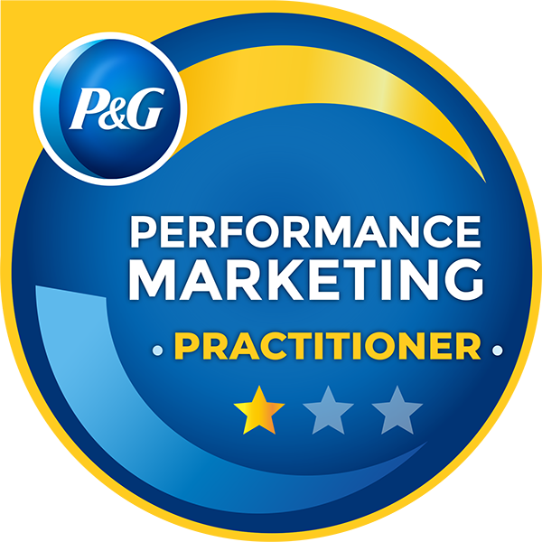 P&G Performance Marketing practitioner