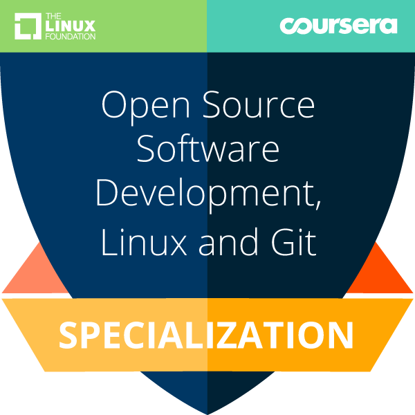 Open Source Software Development, Linux and Git Specialization