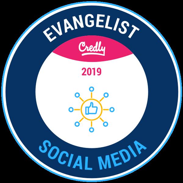 Evangelist: Social Media 2019