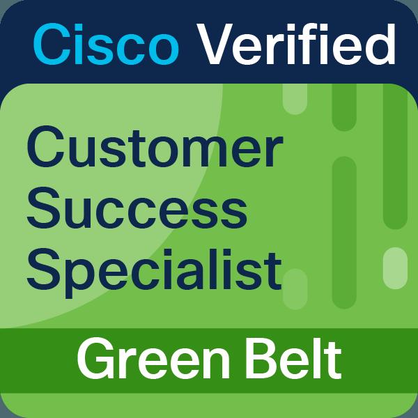 Customer Success Specialist Green Belt