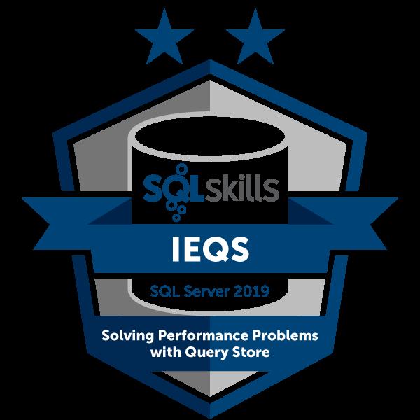 SQLskills IEQS - SQL Server 2019