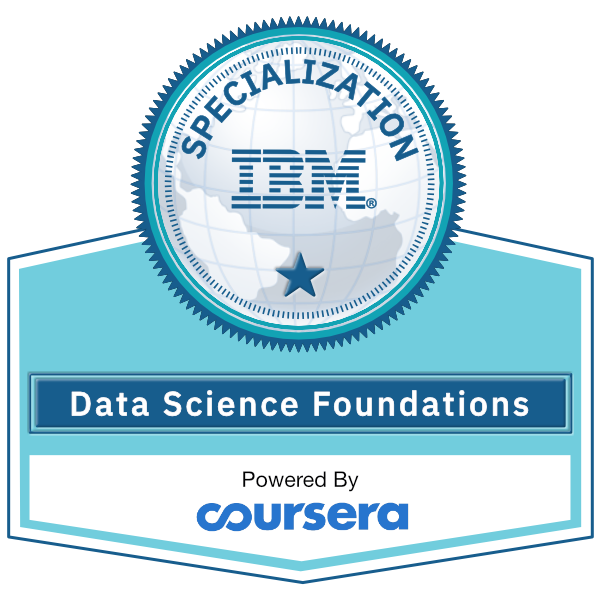 Data Science Foundations Specialization