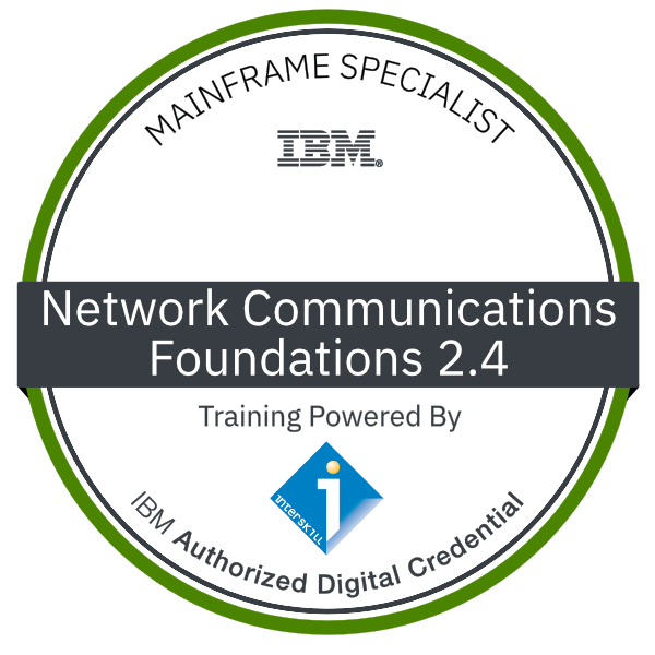 Interskill - Mainframe Specialist - Network Communications - Foundations 2.4