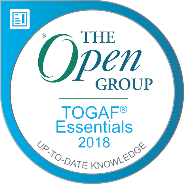 The Open Group Certified: TOGAF® Essentials 2018