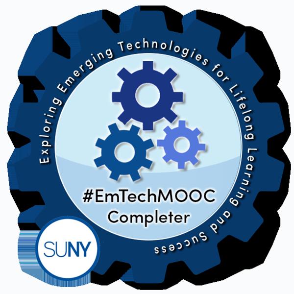 SUNY #EmTechMOOC Completer