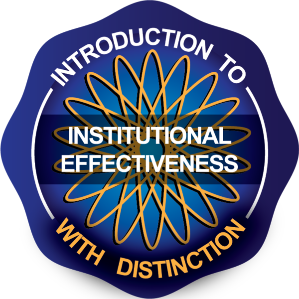 Introduction to Institutional Effectiveness with Distinction