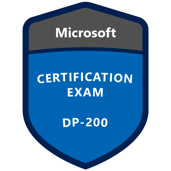 DP-200 Implementing an Azure Data Solution
