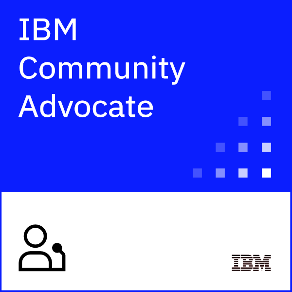 IBM Community Advocate