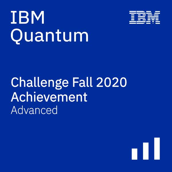 IBM Quantum Challenge - Fall 2020 - Advanced