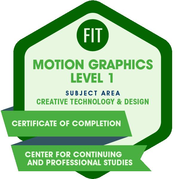 Motion Graphics Level 1