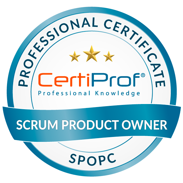 Scrum Product Owner Professional Certificate