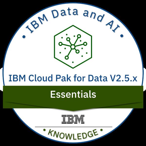 IBM Cloud Pak for Data V2.5.x Essentials