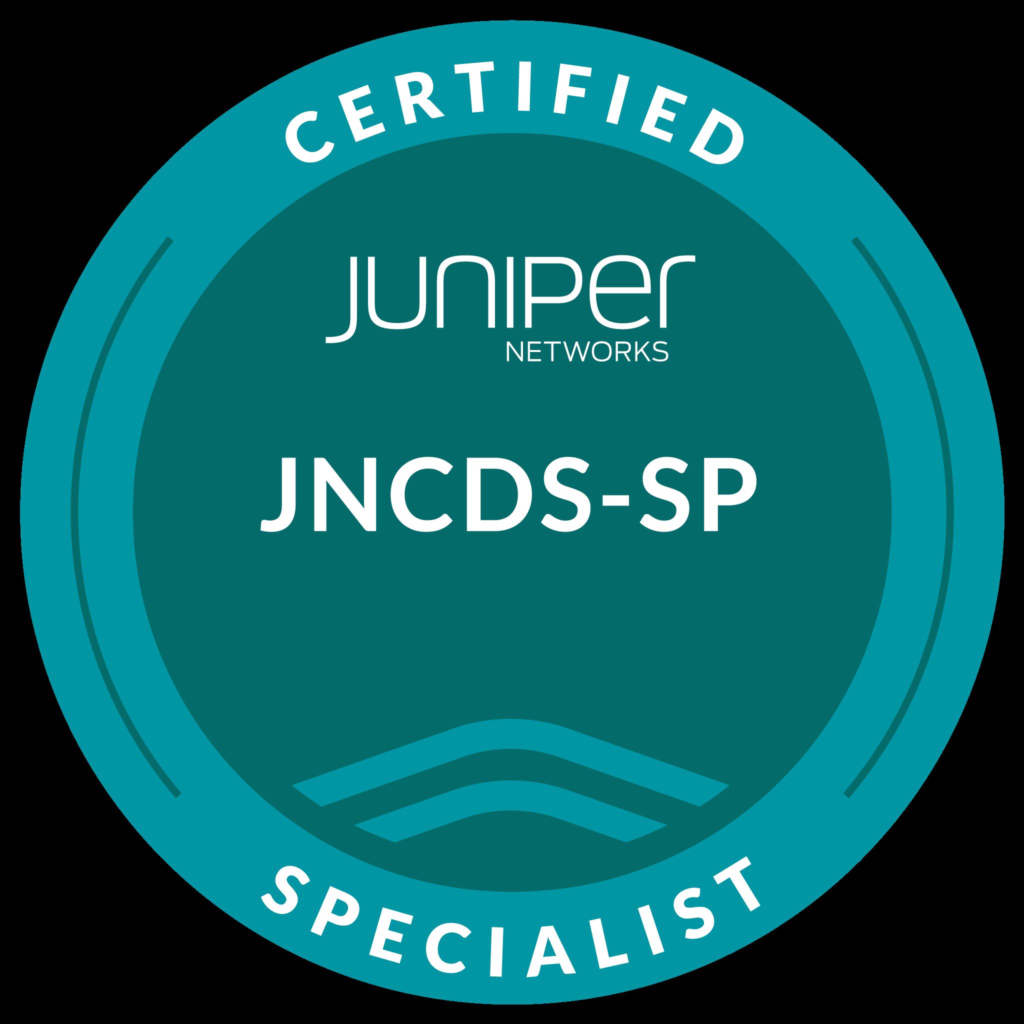 Juniper Networks Certified Design Specialist, Service Provider (JNCDS-SP)
