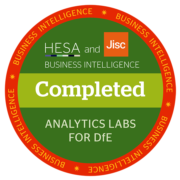 Analytics Labs for DfE