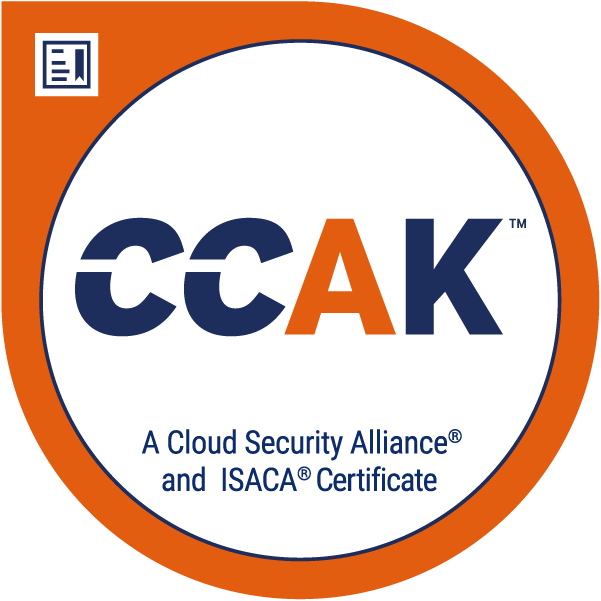 CCAK - Certificate of Cloud Auditing Knowledge Image