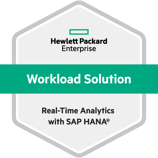 HPE Workload Solution Real-Time Analytics with SAP HANA