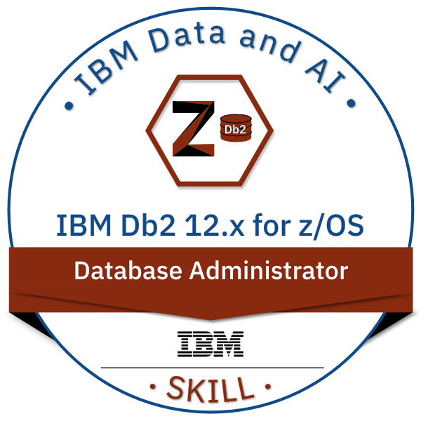 IBM Db2 for z/OS V12.x Database Administrator
