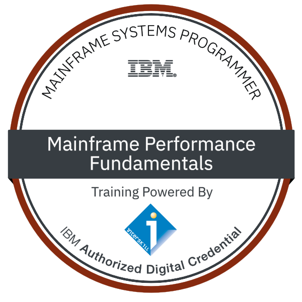 Interskill - Mainframe Performance - Fundamentals
