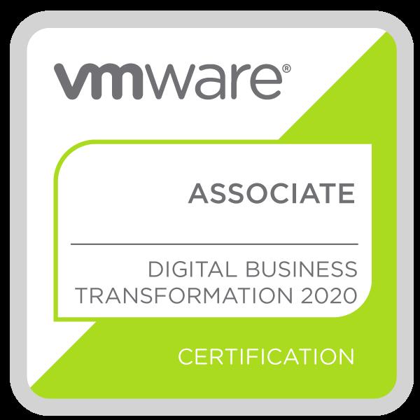 VMware Certified Associate - Digital Business Transformation 2020
