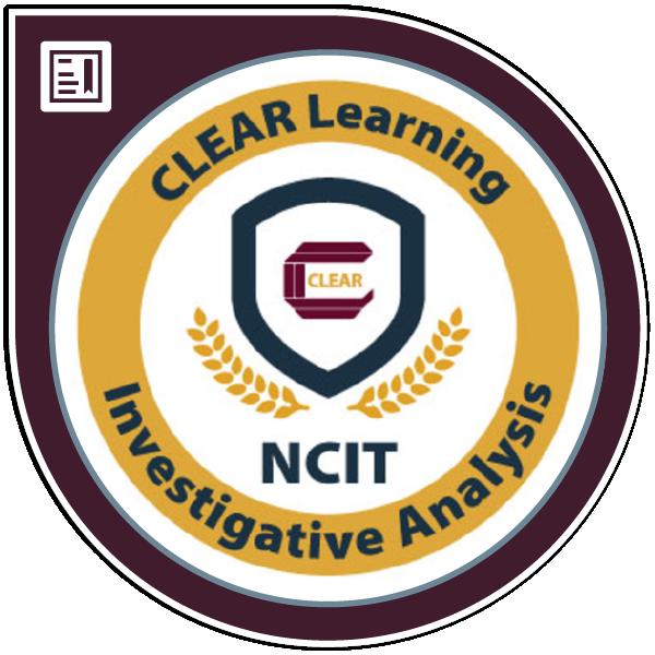 NCIT Specialized - Investigative Analysis
