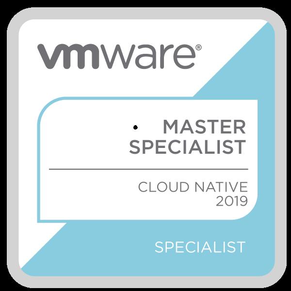 VMware Certified Master Specialist - Cloud Native 2019