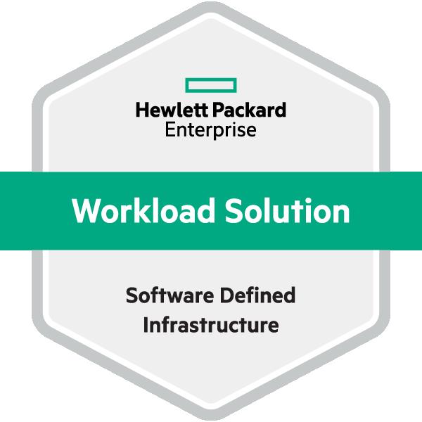 HPE Workload Solution Software Defined Infrastructure