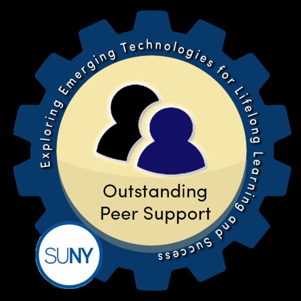 SUNY #EmTechMOOC - Outstanding Peer Support