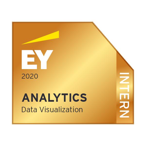 EY Analytics - Data visualization - Intern