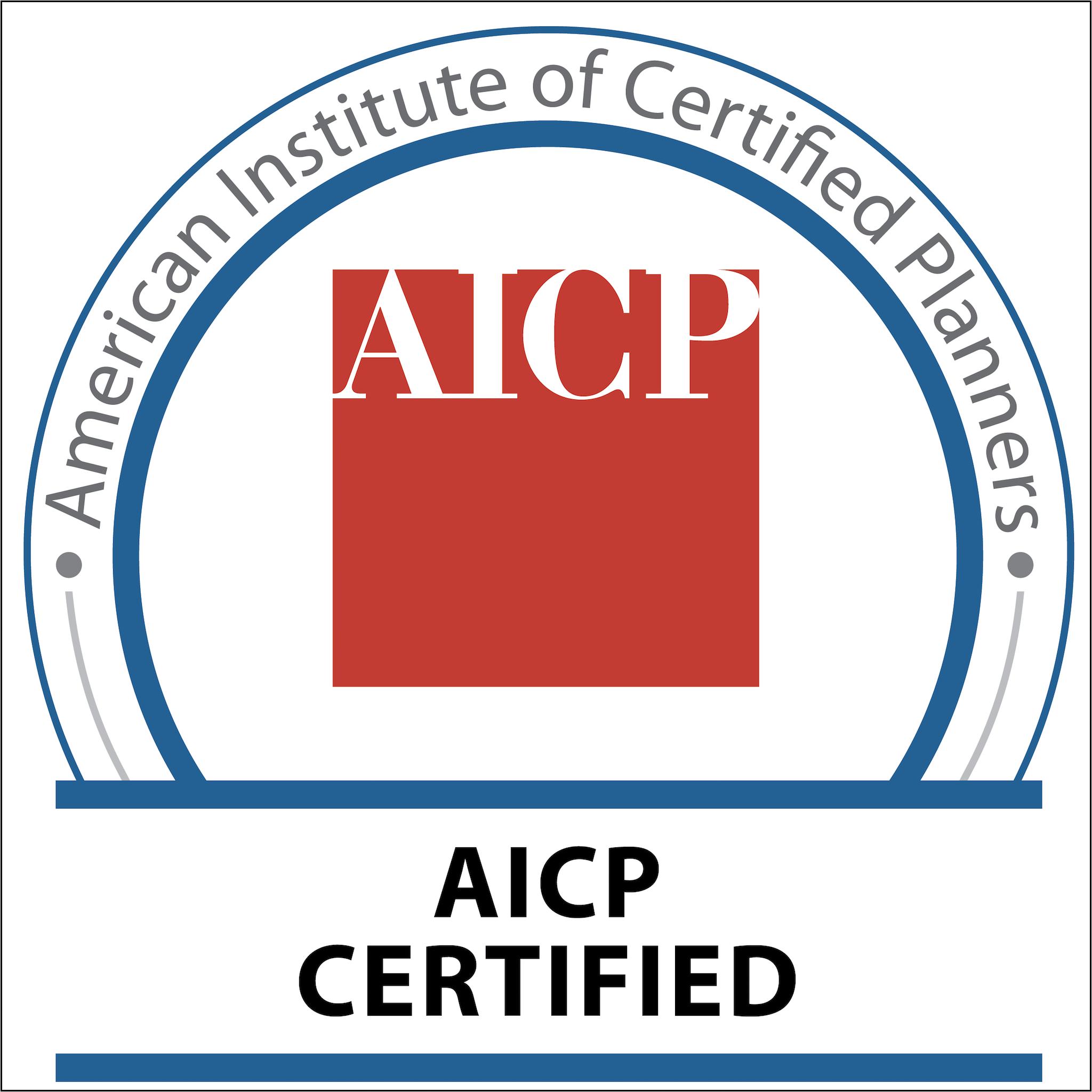 AICP Certified