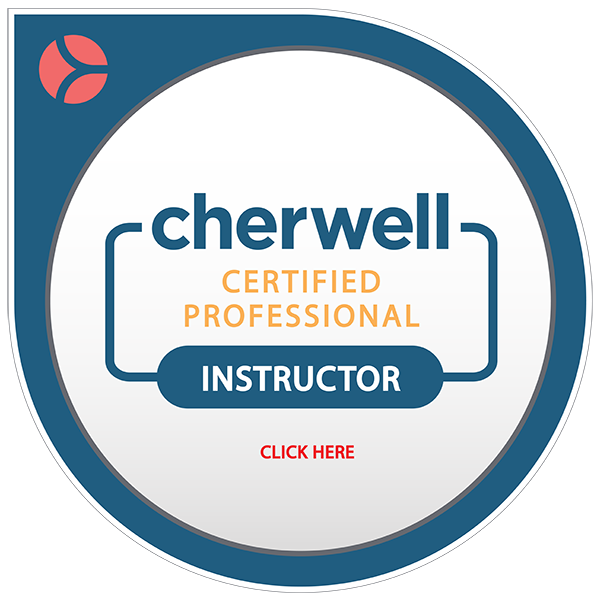 Cherwell Certified Professional Instructor