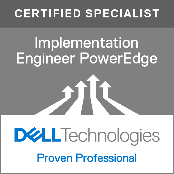 Specialist - Implementation Engineer, PowerEdge Version 1.0