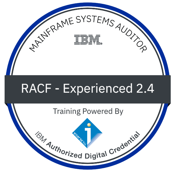 Interskill - Mainframe Systems Auditor – RACF – Experienced 2.4