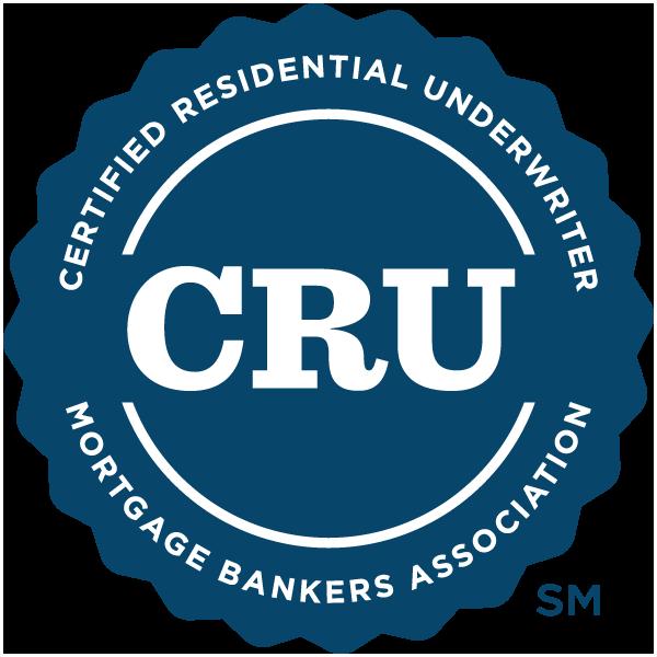 Certified Residential Underwriter (CRU) Designation - Level III