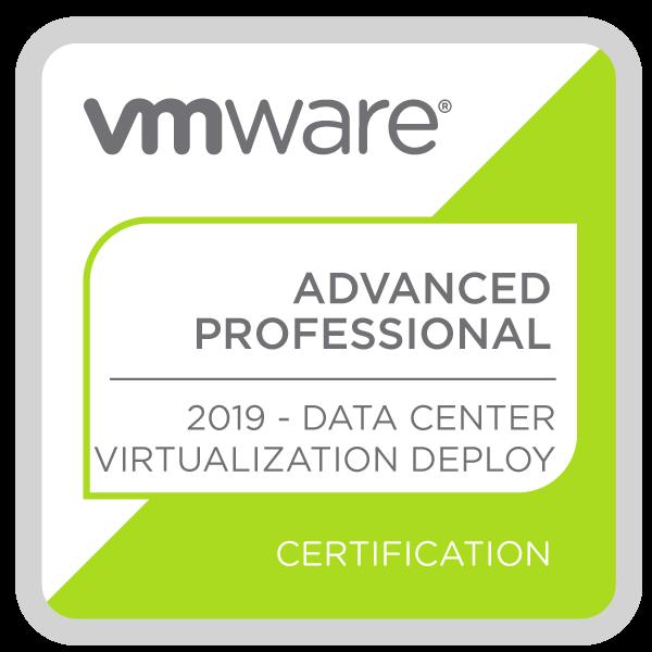 VMware Certified Advanced Professional - Data Center Virtualization Deploy 2019