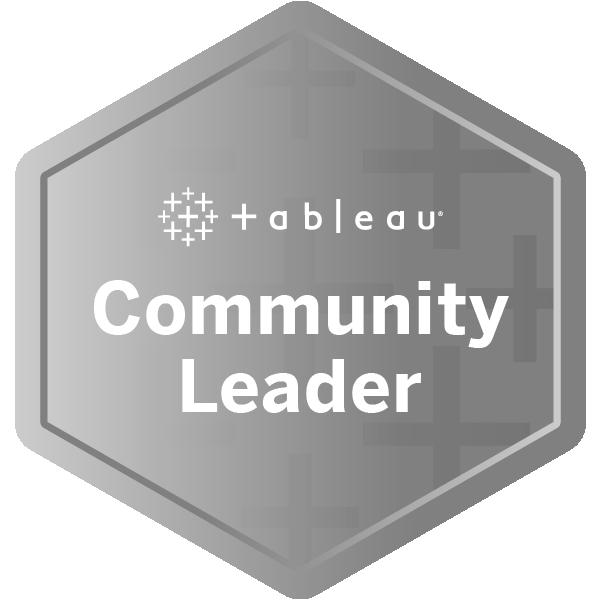 Tableau Community Leader