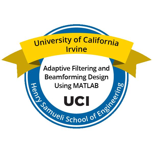 Adaptive Filtering and Beamforming Design Using MATLAB