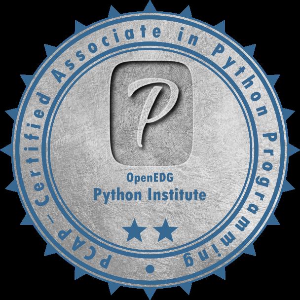 [PCAP-31-01] PCAP – Certified Associate in Python Programming