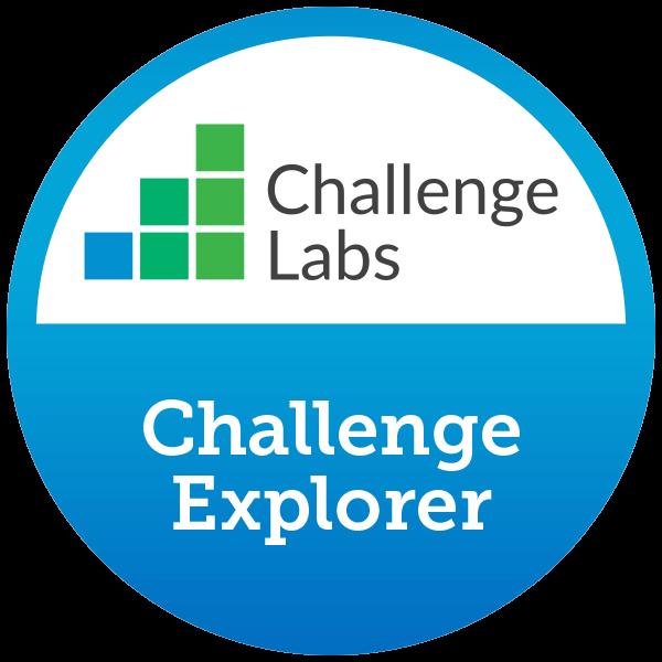 Challenge Explorer (1 hands-on lab completed)