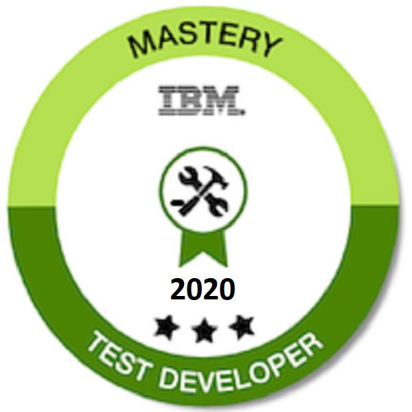 Mastery Test Developer 2020 - Level 3