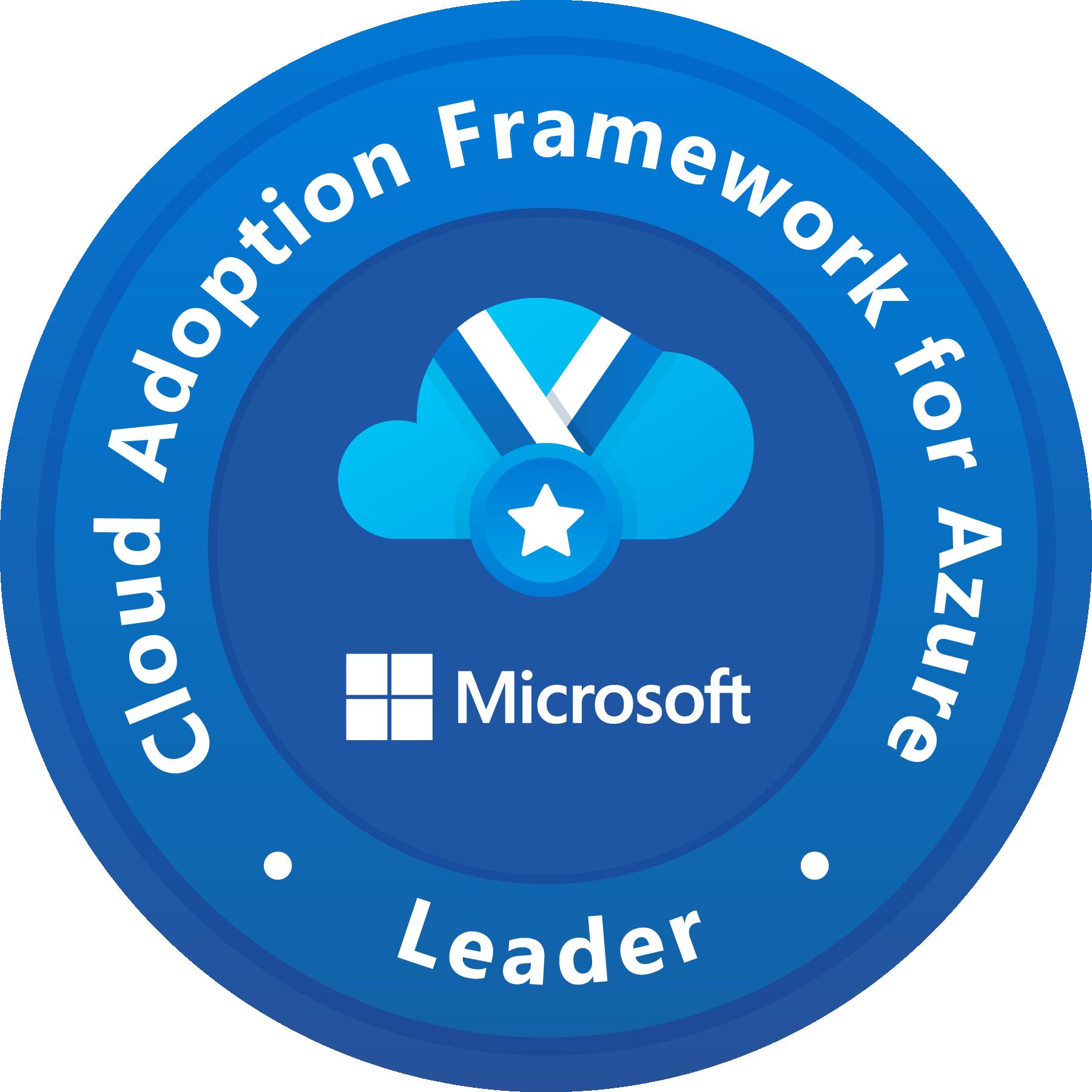 Leader - Cloud Adoption Framework for Azure