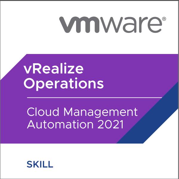 VMware vRealize Operations - Cloud Management Automation 2021