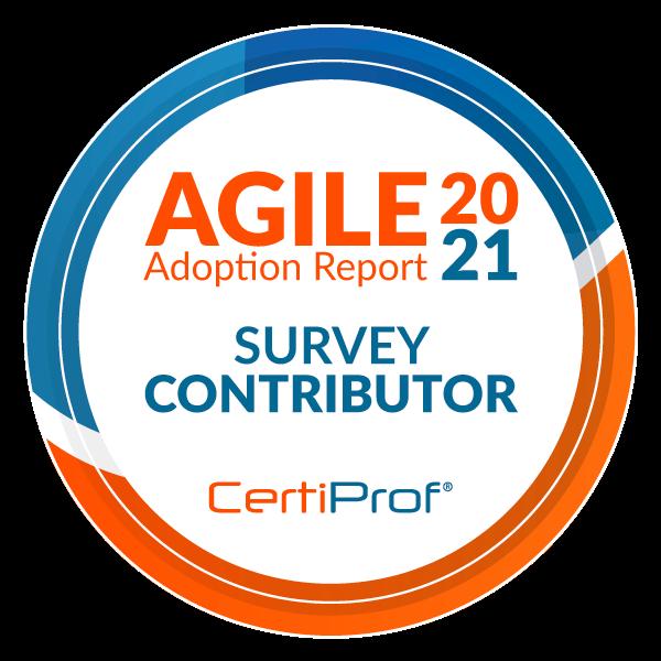 Survey Contributor of The Agile Adoption Report 2021