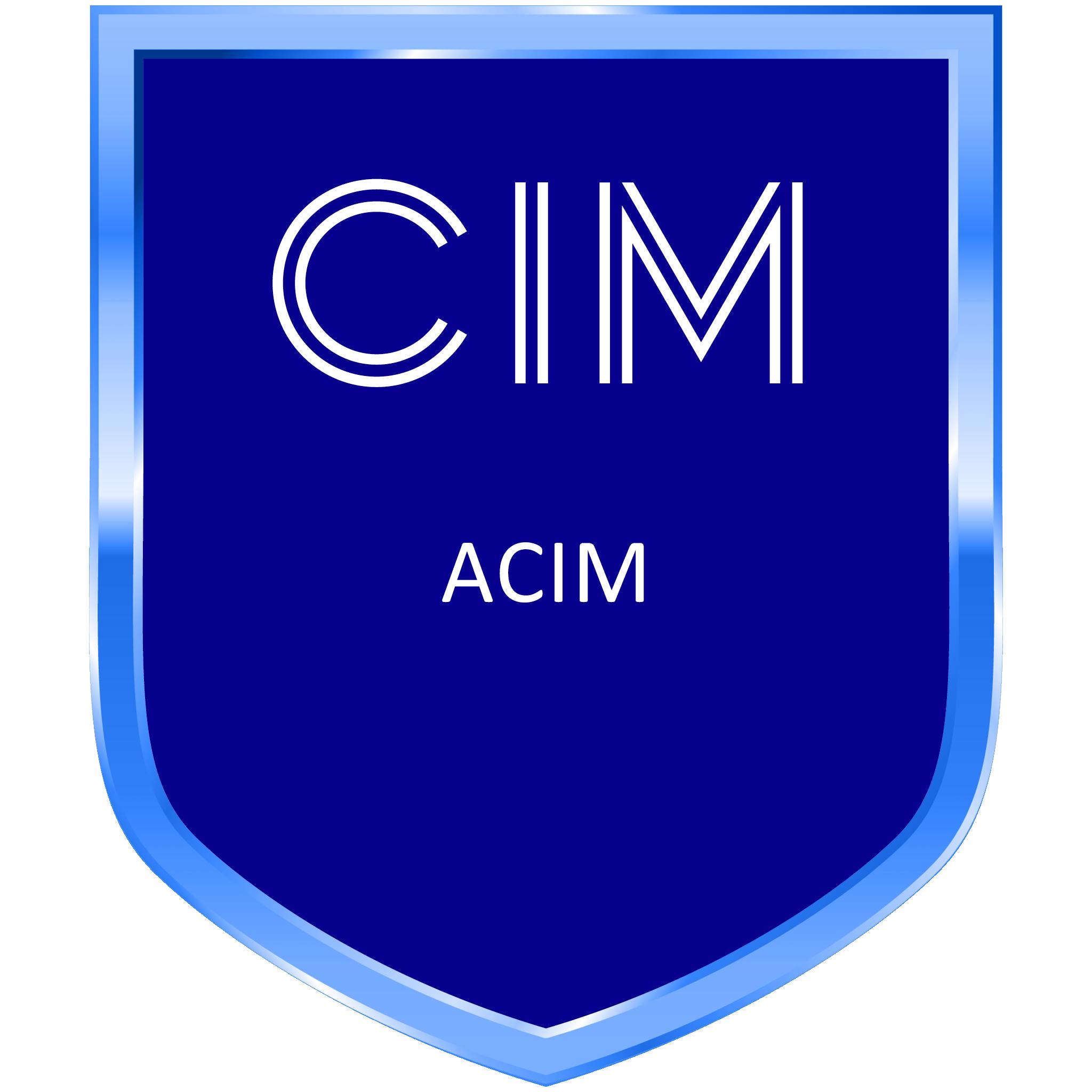CIM ACIM Member