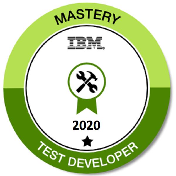 Mastery Test Developer 2020 - Level 1